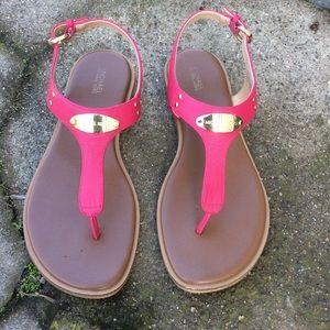 Hot Pink Michel Kors Thongs